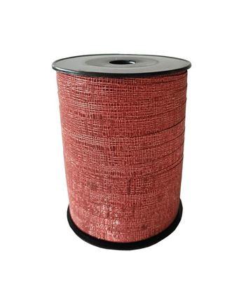 Rood glitter lint | 10 mm breed