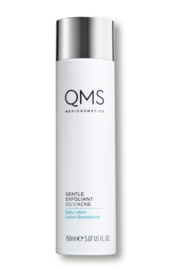 QMS Gentle Exfoliant Daily Lotion oily skin/ acné