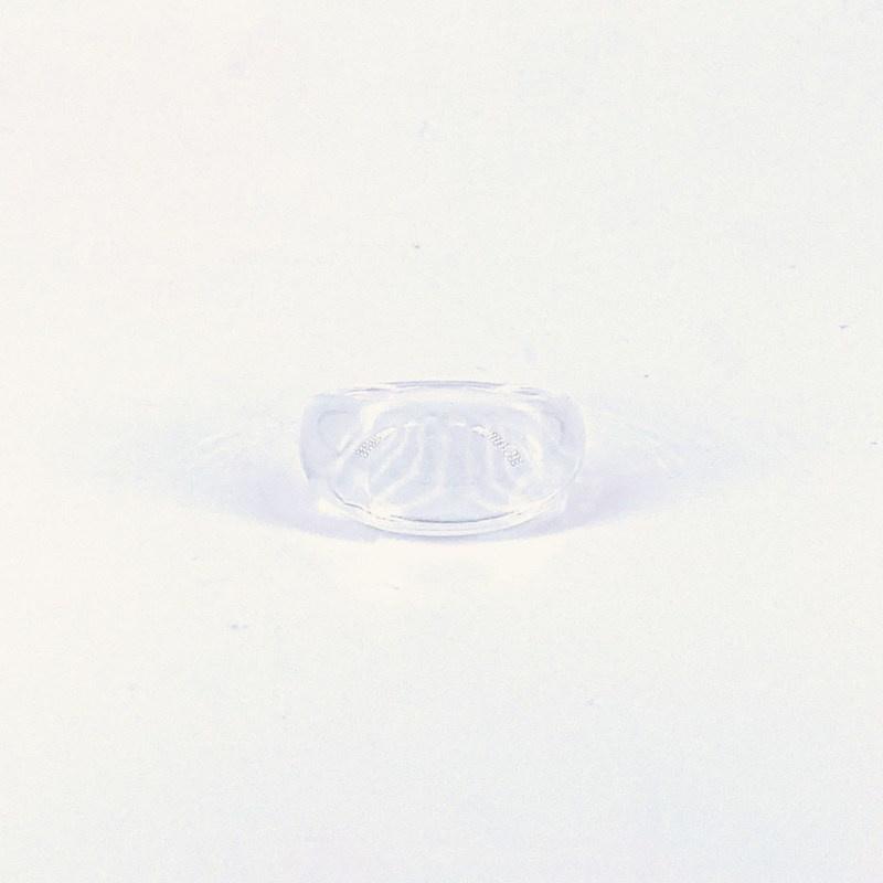 Poppy Round Transparant