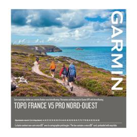 TOPO Frankrijk v5 PRO - Noordwest