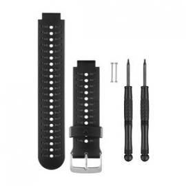 Horlogebanden (zwart/grijs) (Forerunner 230/235/630)