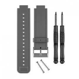 vívoactive™ siliconen polsband (grijs)
