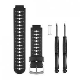 Horlogebanden (zwart/wit) (Forerunner 230/235/630)