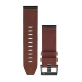 QuickFit™ 26 horlogebandjes (bruin leer)