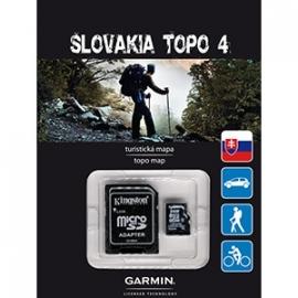 Slowakije TOPO v4 (microSD/SD)