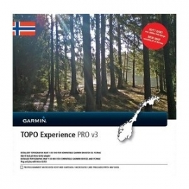 Topo Noorwegen Experience PRO v3 (microSD)