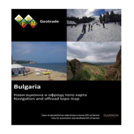 OFRM Geotrade - TOPO Bulgarije (microSD)