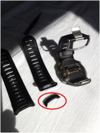 Vervangende polsband (Forerunner 610) zwart