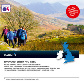 TOPO Groot-Brittannië PRO 1:25.000