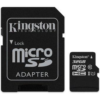 Kingston 32GB microSDHC Class 10 + SD-adapter