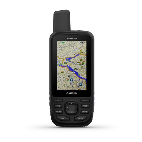 GPSMAP 66st  (TopoActive-kaarten van Europa)