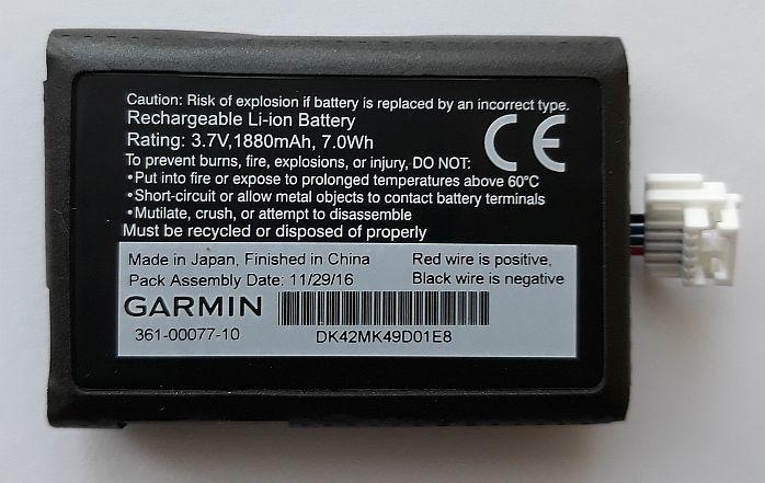 Lithium-ion batterij (zumo 590LM / 595LM)