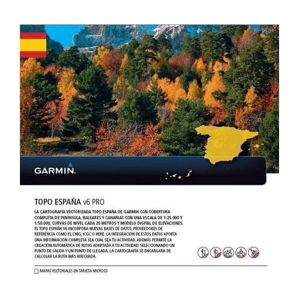 Topo Spanje V6  Pro (microSD)