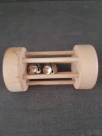 Leuke houten rammelaar