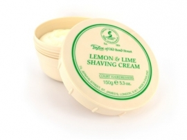 Taylor of Old Bond Street Pot scheercreme 150g Lemon & Lime