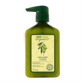 Chi Olive Organics - Hair & Body Conditioner 340ml