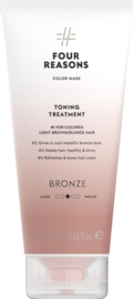 Four Reasons Color Mask Toning Treatment Bronze - 200ml