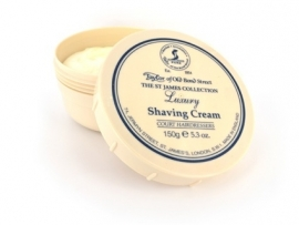 Taylor of Old Bond Street Pot scheercreme 150g St James Collection