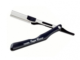 Feather Barbermes Nape Razor