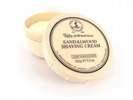Taylor of Old Bond Street Pot scheercreme 150g Sandalwood