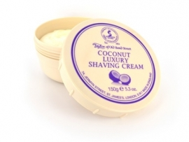 Taylor of Old Bond Street Pot scheercreme 150g Coconut
