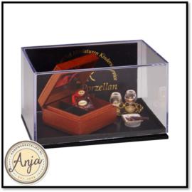 Reutter set met cognac en sigaar