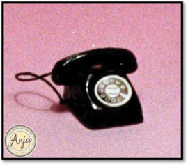 D1949 Telefoon zwart