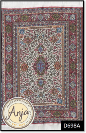 D698A Turkish Carpet Maroon
