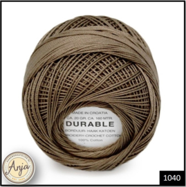 Durable borduur- en haakkatoen 1040