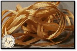 ZL-729 Goud bruin zijdelint