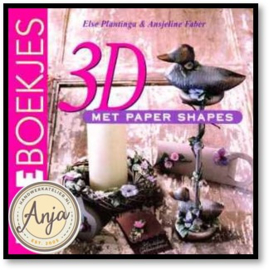 3D met paper shapes - Else Plantinga