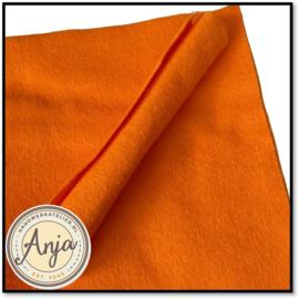 Vilt Oranje 22 x 22 cm