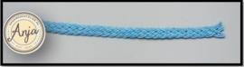 Gevlochten band blauw B0719-7