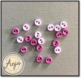 4 mm knoopjes Paars/Lila