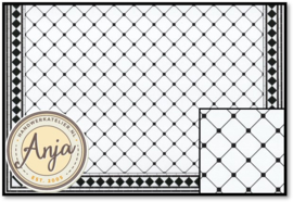 DIY059C Floor Tiles Octagonal Mono