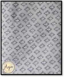 HWA605 grijs met printje viscose