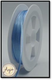 262 Blue Satijnlint 1.5 mm