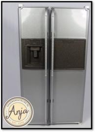 DF1006 Amerikaanse koelkast zilver