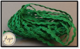 Zigzagband 2,5 mm Emerald
