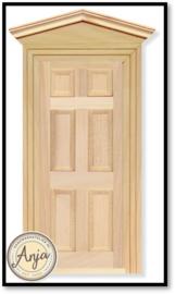 DIY002 - Voordeur + afwerklijsten