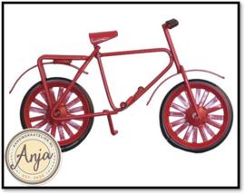 D2435 - Rode kinderfiets