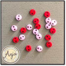 4 mm knoopjes Pink02