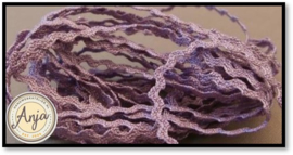 Zigzagband 2 mm Lilac