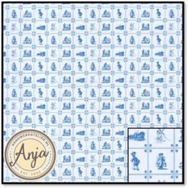 8247 Blue Delft Tile