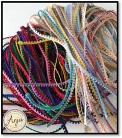 Assorti Picotband 35 kleuren