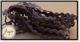 Zigzagband 2 mm Amethyst