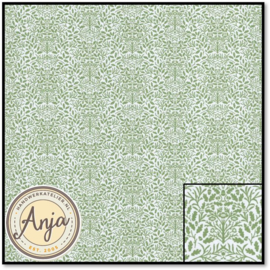 DIY221A Acorns Green On White