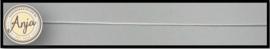 Koord wit 0,7 mm  K0719-1
