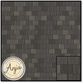 5218 Large Grey Roof Tile Sheet