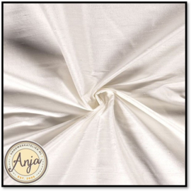Zijde stof 10 room wit